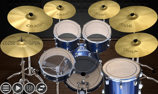 Simple Drums Basic - Realistic Drum App Android 1