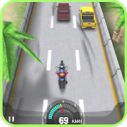 Moto Racing 3D Game - موتو لعبة سباق