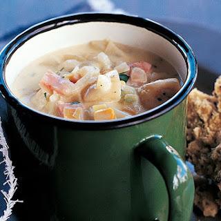 Potato, Corn And Bacon Soup