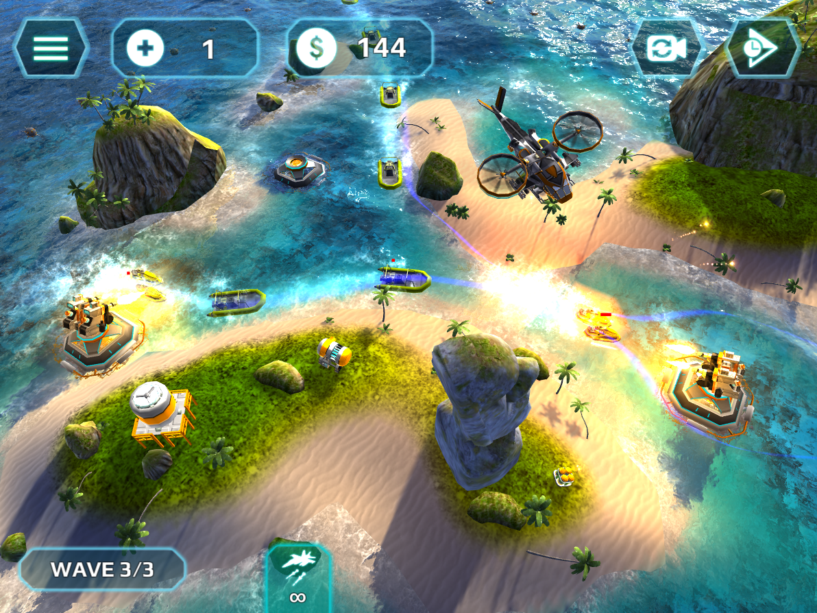 Naval Storm TD- screenshot