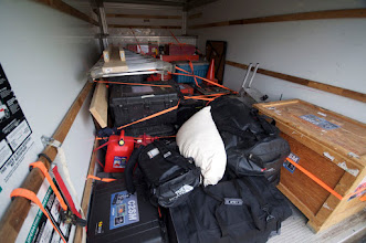 Photo: Gear in the truck