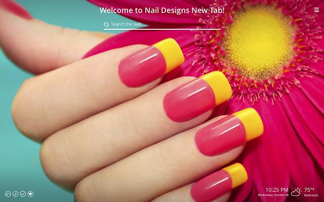 Nail Designs New Tab - Chrome Web Store