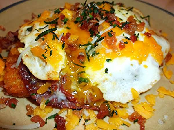 Hot Pastrami Breakfast Stack Recipe
