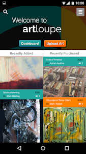 ArtLoupe: Shop & Sell Fine Art screenshot 0