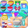 Butterfly muffins cooking game APK icon