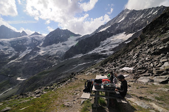 Photo: Schalihorn 3974 / Weisshorn 4506