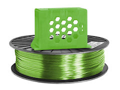 Translucent Green PRO Series PETG Filament - 2.85mm (1lb)