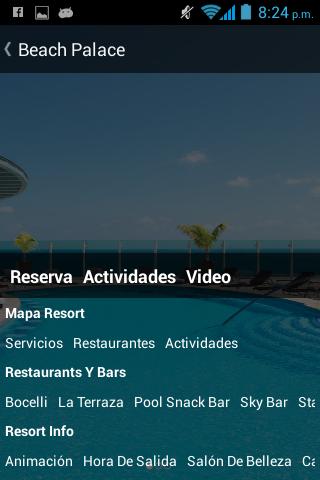 Palace Resorts - screenshot