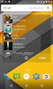 Universal Dialer plus Widget screenshot 6