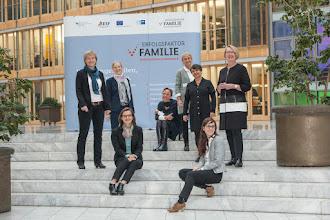 """Photo: Das Team vom Netzwerkbüro """"Erfolgsfaktor Familie"""", Multiplikatorenveranstaltung 2015, Quelle: Netzwerkbüro """"Erfolgsfaktor Familie"""" / Heiko Adrian"""