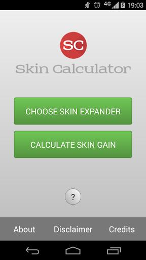 Skin Calculator