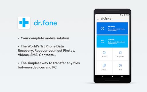 dr.fone screenshot 1