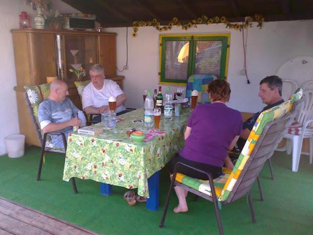Samstag Grillabend bei Rosi und Achim