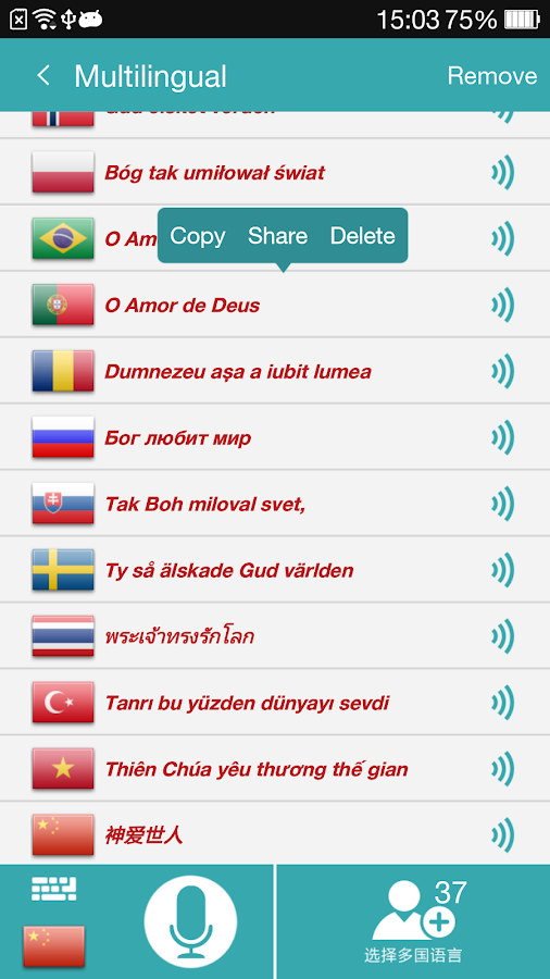 Translate Voice (Translator)- screenshot