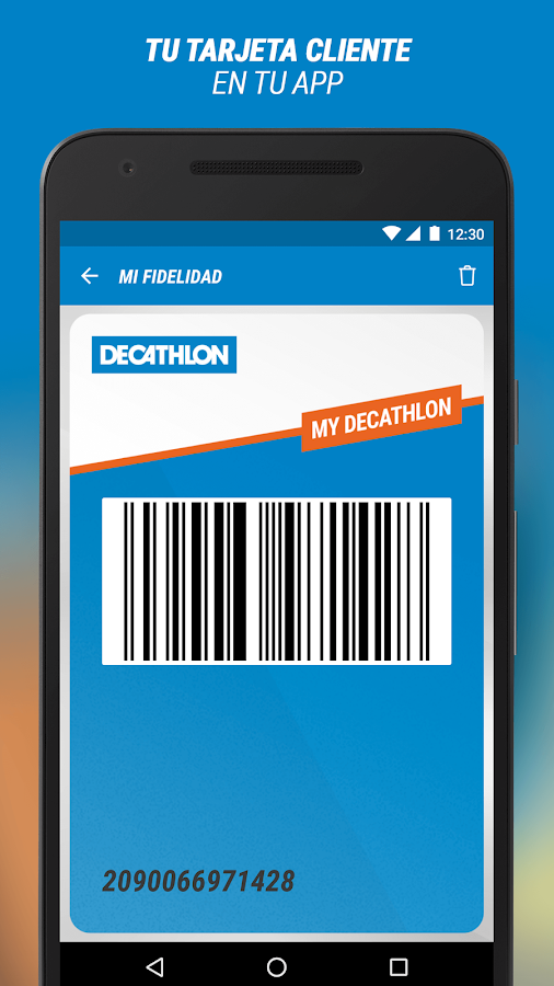 Decathlon: captura de pantalla