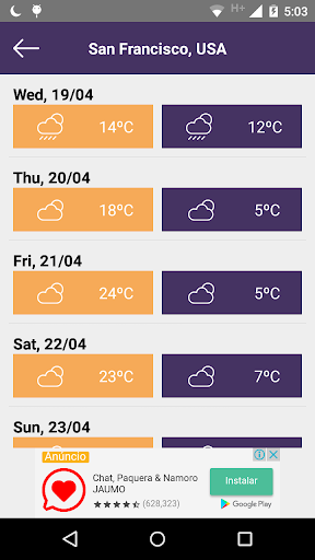 Weather Forecast free  screenshots 3