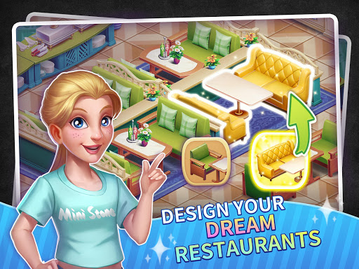My Restaurant Empire - 3D Decorating Cooking Game screenshots 11
