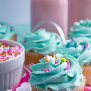 Perfectly Moist and Fluffy Vanilla Cupcakes.