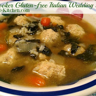 Slowcooker Gluten-free Italian Wedding Soup