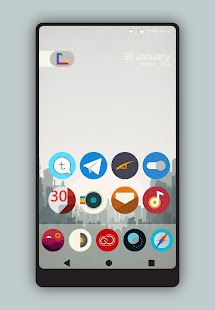 Olmo - Icon Pack Screenshot