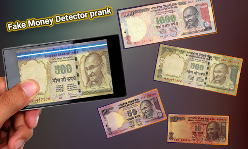 Fake Money Detector Prank