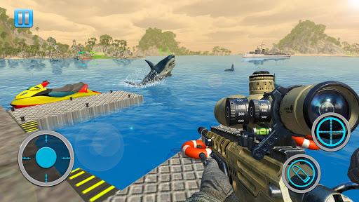 Whale Shark Attack FPS Sniper - Shark Hunting Game 1.0.12 screenshots 1