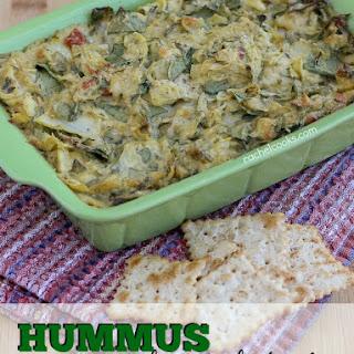 Hummus Spinach Artichoke Dip