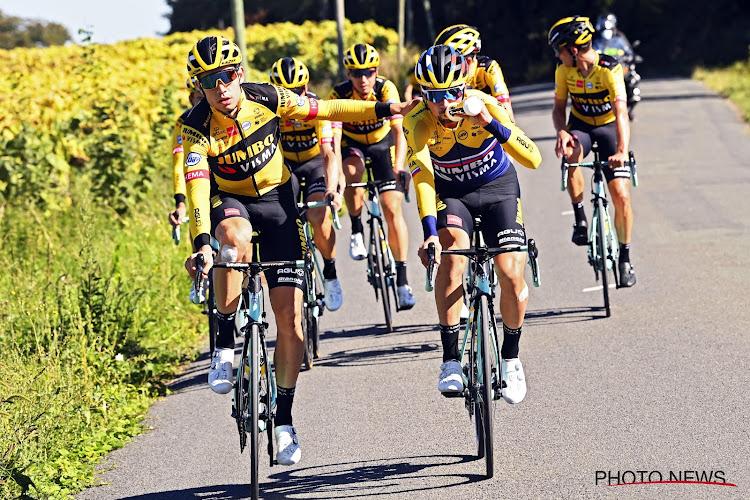 Jumbo-Visma gaat de Tour rijden met aangepast shirt: ook uw naam kan er als fan op komen