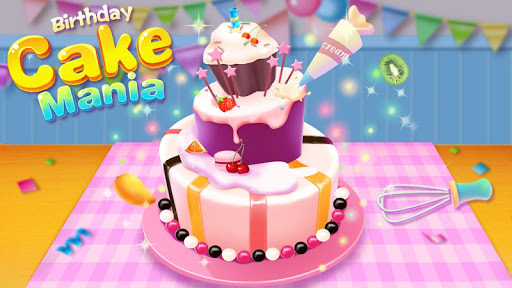 Birthday Cake Mania - Kids Cooking  screenshots 1