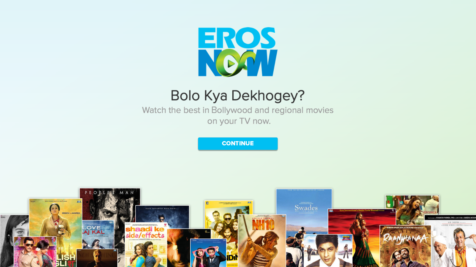 Eros Now for Android TV- screenshot