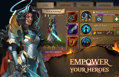 Chaos Lords Tactical RPG-mobile legendary PvE game 3