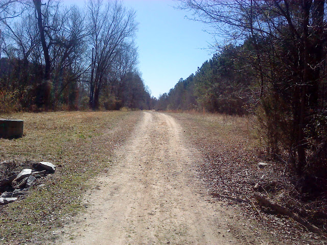 Neuse River Trail mostly flat