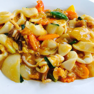 Fried Squid Salted Egg Recipes