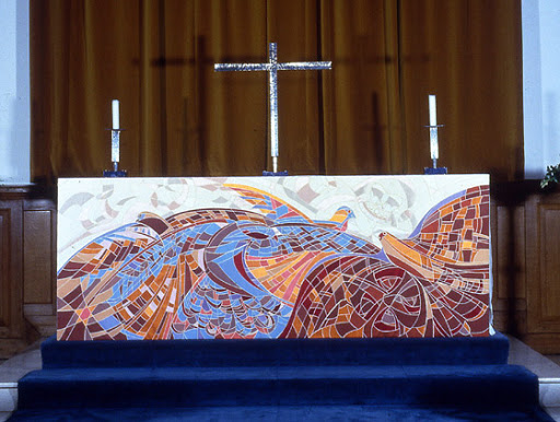 Altar frontal for RAF College Cranwell