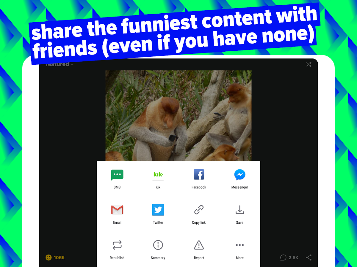 Screenshots of iFunny :) for iPhone