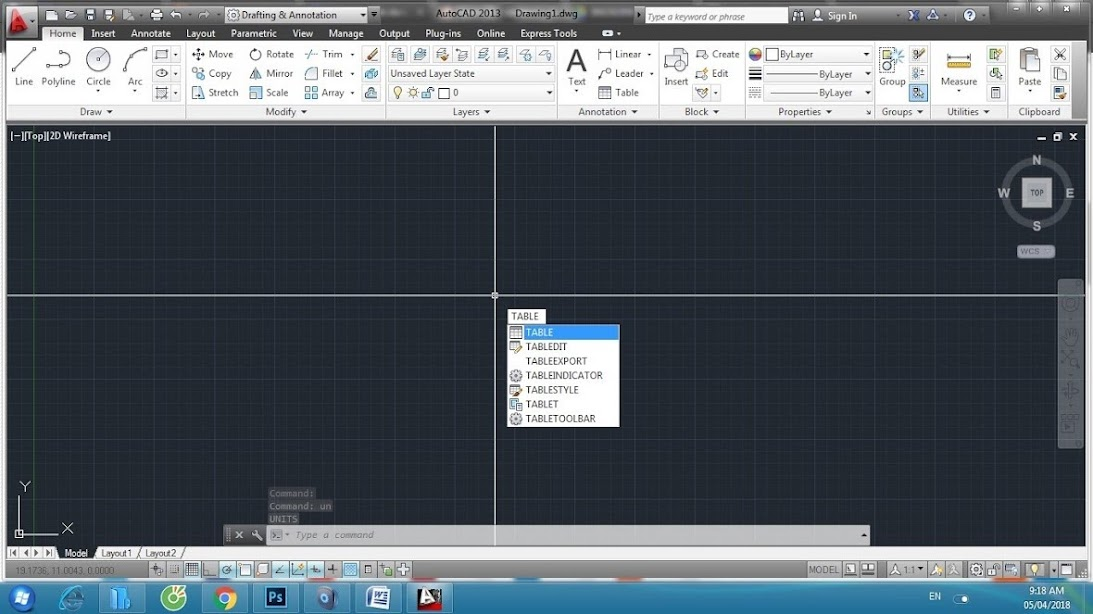 Cách tạo table chi tiết trong Autocad