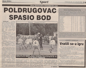 Photo: Glas Istre 20.3.2000. I ŽNL