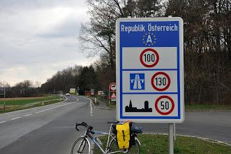 Photo: Austria i jej równiutkie szosy