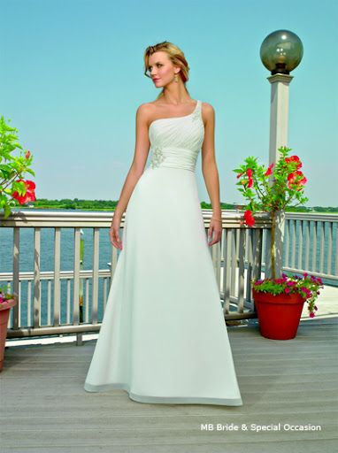 08152  Sunny Beach Wedding Gown