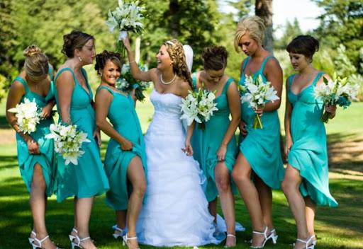 Marine Bridesmaid Dresses
