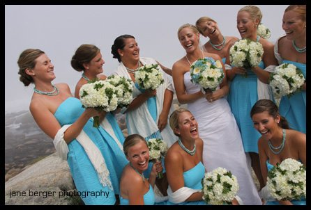 Marine Blue - Beach Bridesmaid Dresses