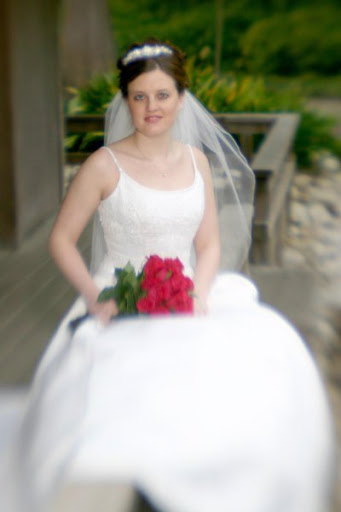 Ivory Top Wedding Ball Gown