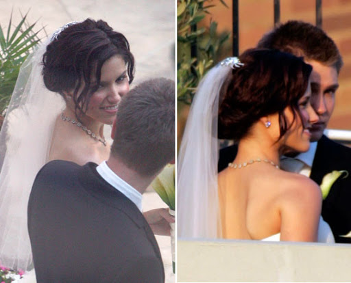 Incredible Wedding Hairstyles Celebrity Wedding Hairstyle Photos Hairstyle Inspiration Daily Dogsangcom