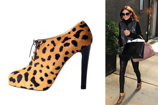 Olivia Palermo Steps Out with Charlotte Olympia Leopard ...