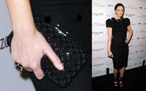 Emily Blunt - Evening Dress Hot Black