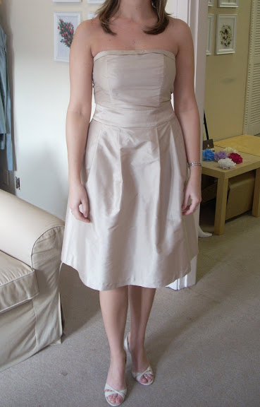 Tea#Length#Bridesmaid#Dress