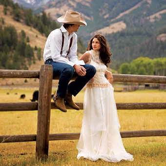 Country Wedding Gown