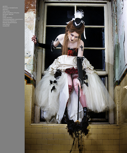 Gothic Wedding Dress .01