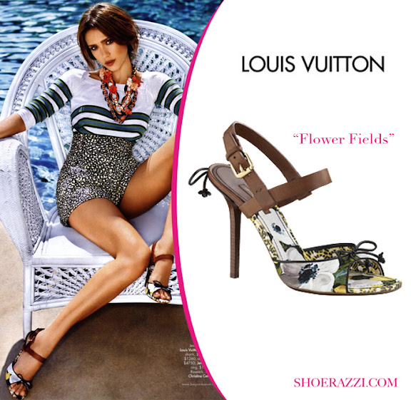 Jessica-Alba-Celebrity-Shoes-Louis-Vuitton-Flower-Fields-Sandal