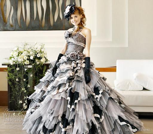Black Wedding Gown Ideas